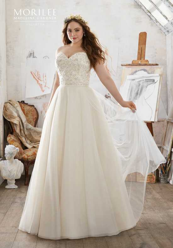 Morilee by Madeline Gardner/Julietta 3213 A-Line Wedding Dress