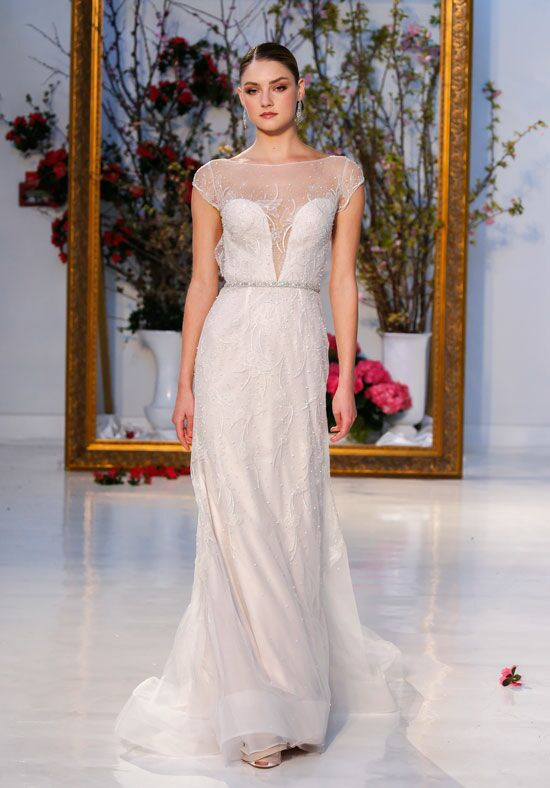 Anne Barge Sequoia Sheath Wedding Dress