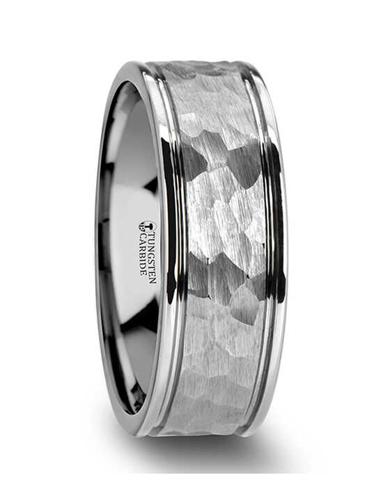 Mens Tungsten Wedding Bands W2049-DGHF Tungsten Wedding Ring