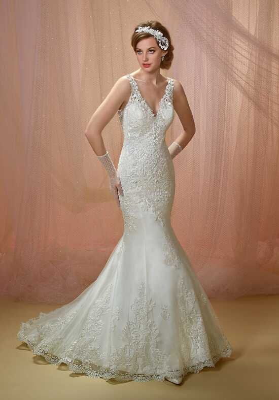 1 Wedding by Mary's Bridal 6497 Mermaid Wedding Dress