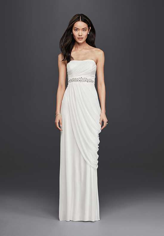 David's Bridal DB Studio Style SDWG0417 Sheath Wedding Dress