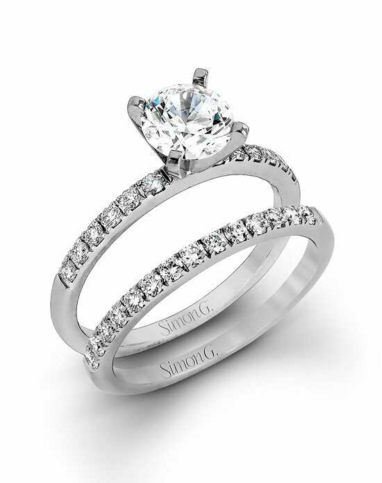 Simon G. Jewelry MR1686 Engagement Ring photo
