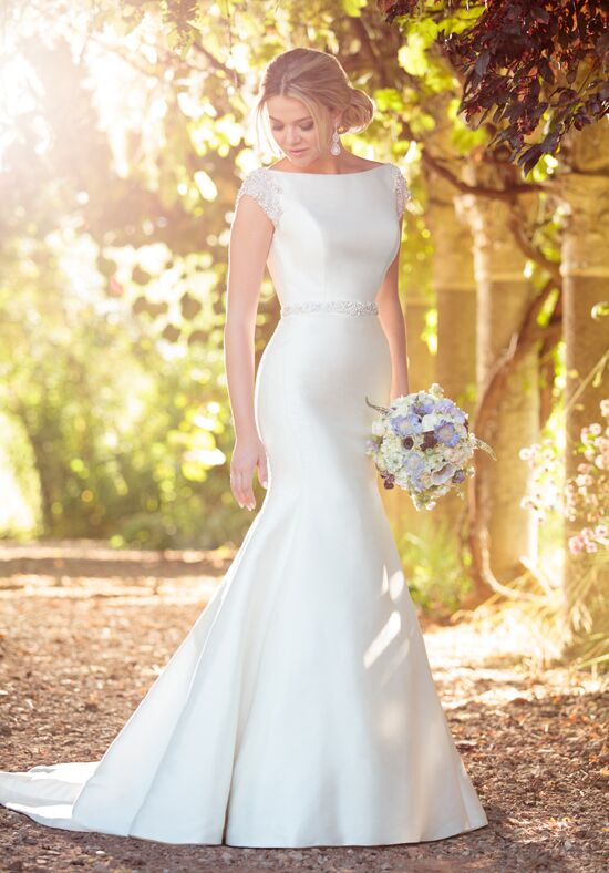 Essense of Australia D2241 Mermaid Wedding Dress