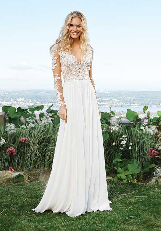 Lillian West 6422 A-Line Wedding Dress