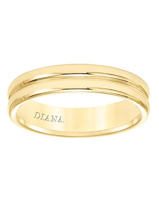 Diana 11-N8658Y5-G Gold Wedding Ring