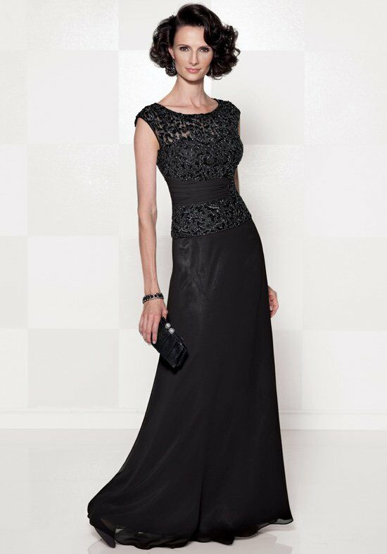 Cameron Blake 114657 Black Mother Of The Bride Dress