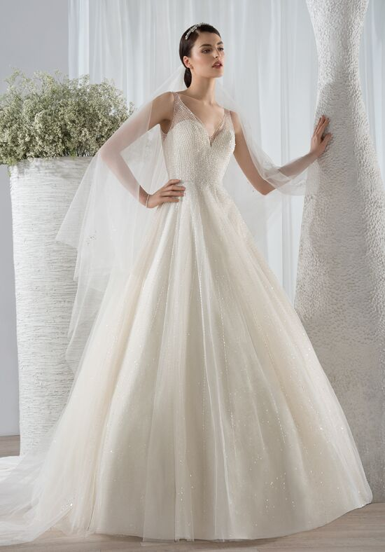 Demetrios 586 A-Line Wedding Dress
