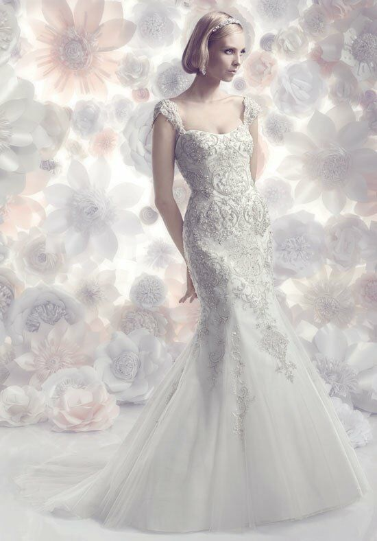 Cb couture b092 wedding dress the knot for Cb couture wedding dresses