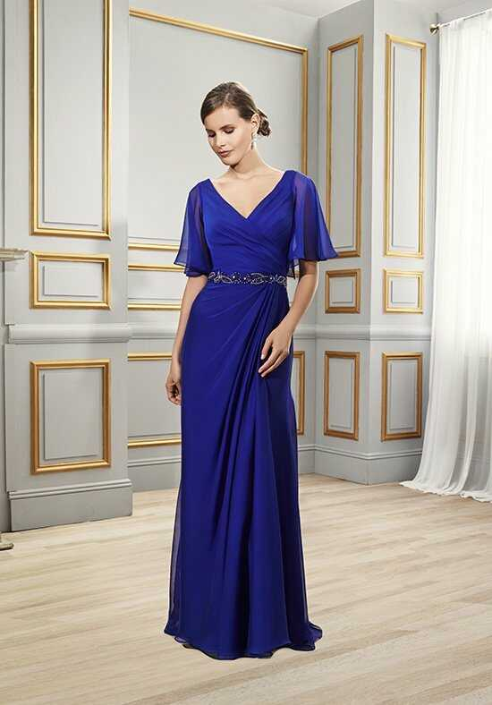 Val Stefani Celebrations MB7503 Blue Mother Of The Bride Dress
