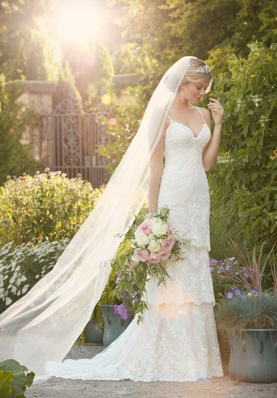 Essense of Australia D2068 Sheath Wedding Dress