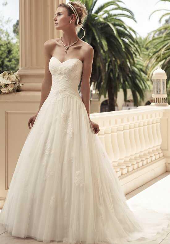 Casablanca Bridal 2108 A-Line Wedding Dress