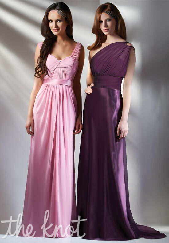 Bari Jay Bridesmaids 429/410 One-Shoulder, Scoop Bridesmaid Dress