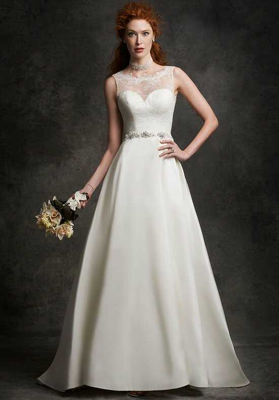 Ella Rosa: Gallery GA2251 A-Line Wedding Dress
