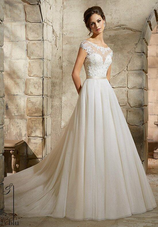 Blu by Madeline Gardner 5362 Wedding Dress photo
