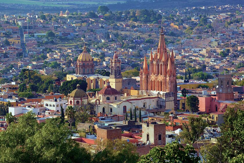 San Miguel De Allende Is One Of The Most Beautiful Cities In Mexico Named A World Heritage Site For Its Rich Architecture Palaceagnificent