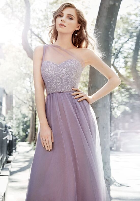 Hayley Paige Occasions 5703 One Shoulder Bridesmaid Dress