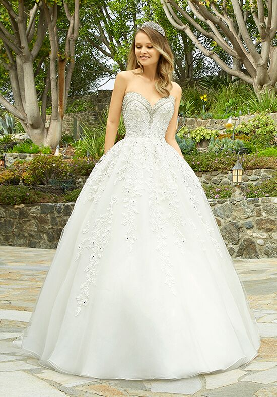 Moonlight Couture H1338 Ball Gown Wedding Dress