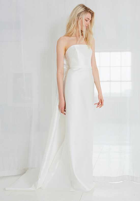 Amsale Elona Sheath Wedding Dress
