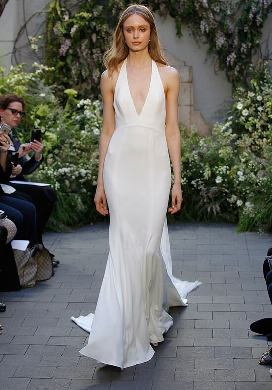 Monique Lhuillier Marlowe Sheath Wedding Dress