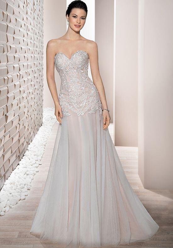 Demetrios 668 A-Line Wedding Dress