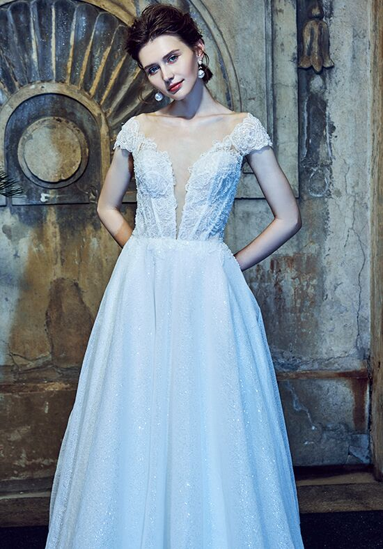 Calla Blanche LA8102 Adele Ball Gown Wedding Dress