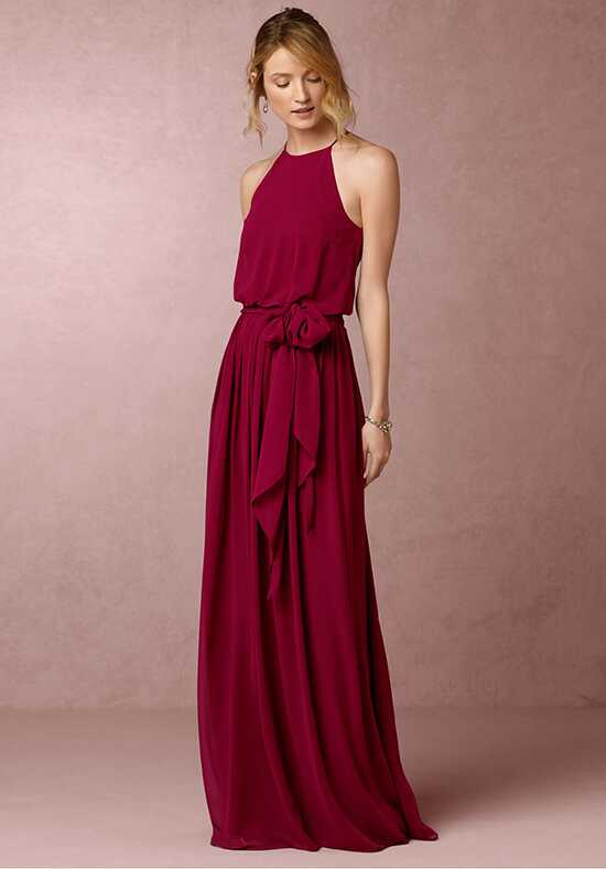 BHLDN (Bridesmaids) Alana-Red Bridesmaid Dress photo