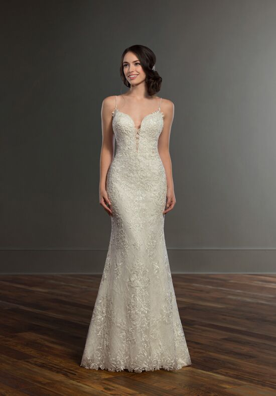 Martina Liana 993 Sheath Wedding Dress
