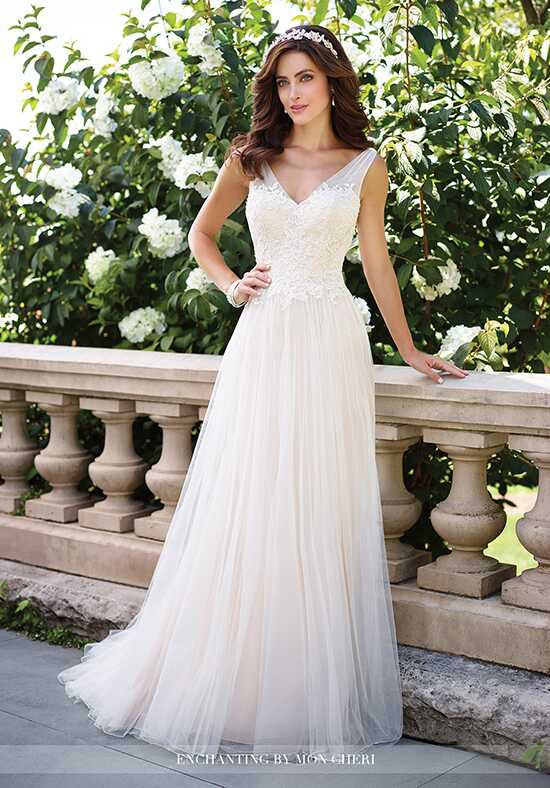 Enchanting by Mon Cheri 117176 Wedding Dress photo