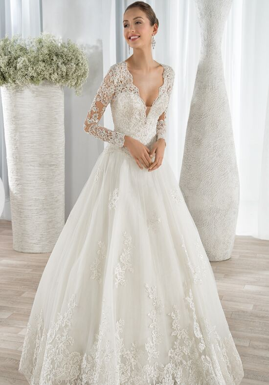 Demetrios 646 Ball Gown Wedding Dress