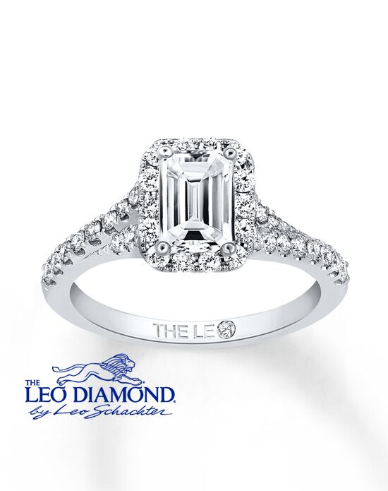 The Leo Diamond 991470117 Engagement Ring The Knot