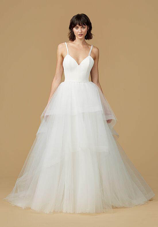 Nouvelle amsale audrey wedding dress the knot for Nouvelle amsale wedding dress