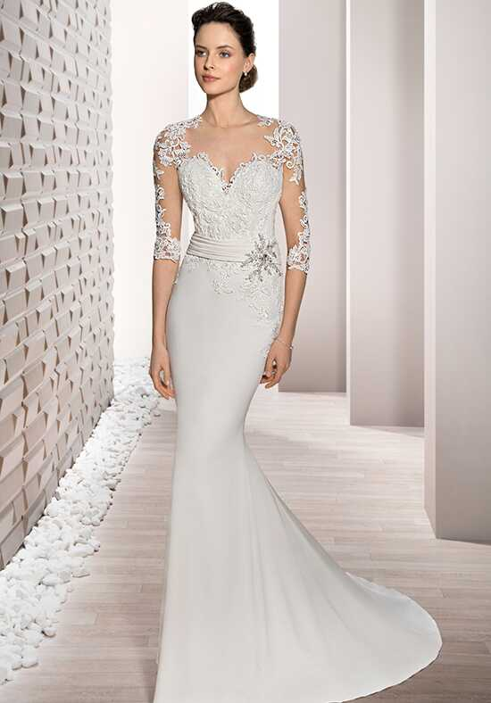 Demetrios 701 Sheath Wedding Dress