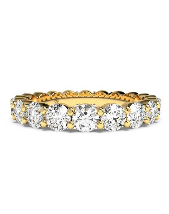 Ritani Women's Slim Round-Cut Diamond Prong-Set Eternity Band - in 18kt Yellow Gold - (2.20 CTW) Gold Wedding Ring