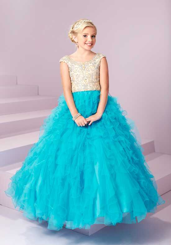 Tiffany Princess 13499 Flower Girl Dress