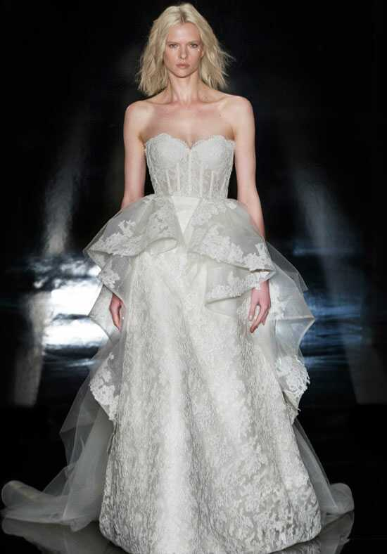 Reem Acra Paulina Ball Gown Wedding Dress