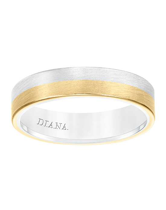 Diana 11-N8657WY5-G White Gold, Gold Wedding Ring