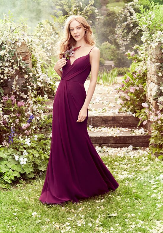 Hayley Paige Occasions 5659 V-Neck Bridesmaid Dress