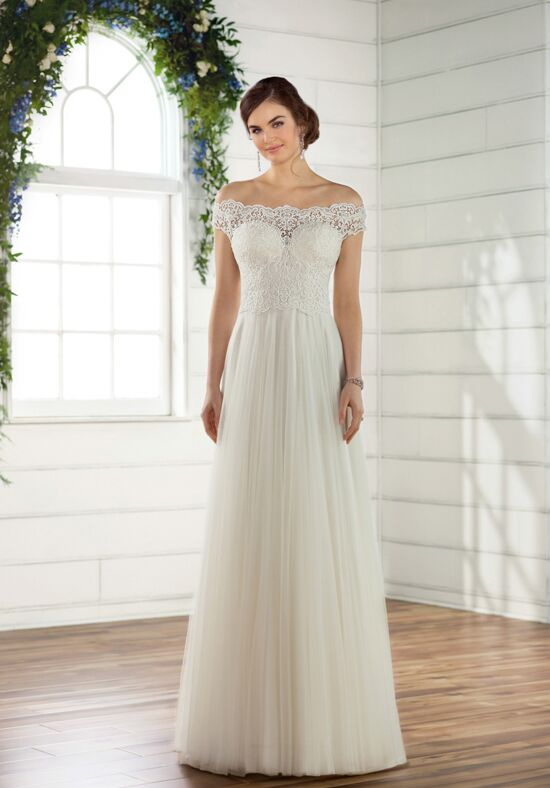 Essense of Australia D2446 Sheath Wedding Dress