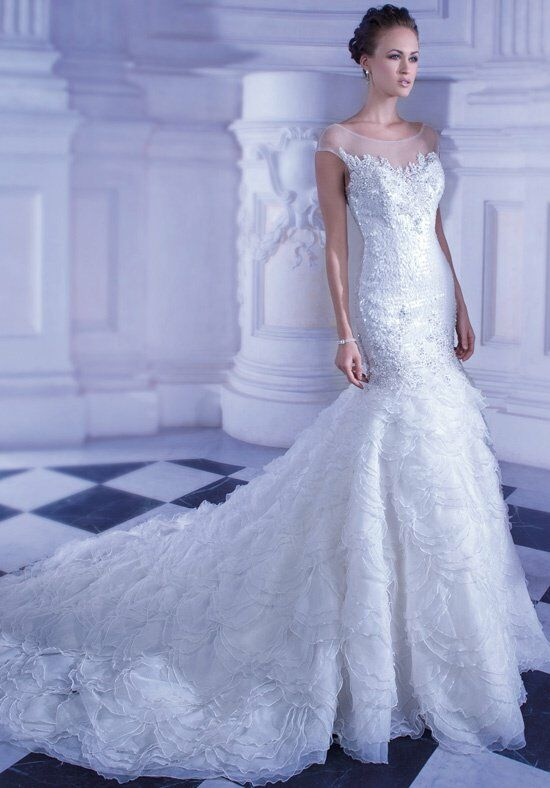 Demetrios GR247 Mermaid Wedding Dress