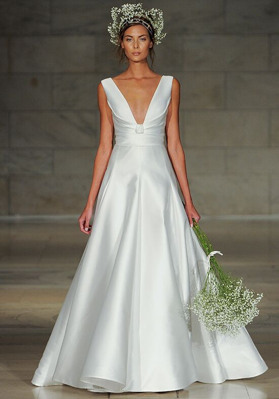 Reem Acra Endear A-Line Wedding Dress