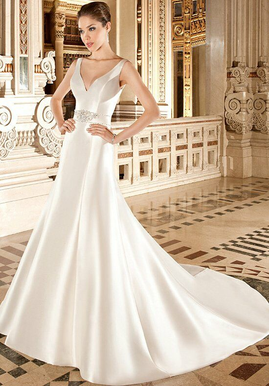Demetrios 3224 A-Line Wedding Dress