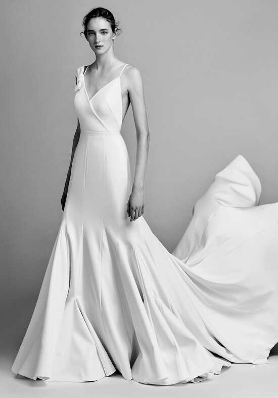 Viktor&Rolf Mariage Asymmetric sculptural godet dress Mermaid Wedding Dress