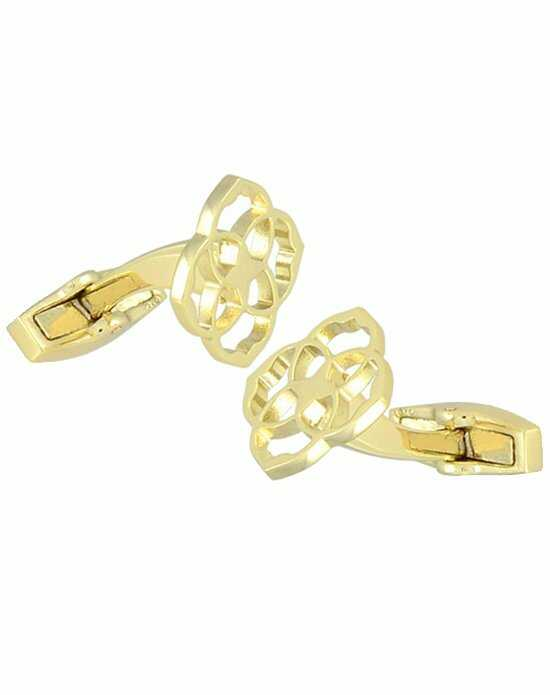 Kendra Scott Daniel Cufflinks in Gold Wedding Cufflink photo