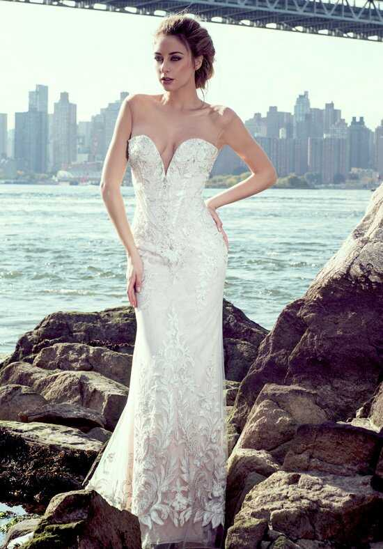 Stephen Yearick KSY80 Sheath Wedding Dress