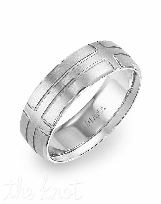 Diana 11-N7663W7-G White Gold Wedding Ring
