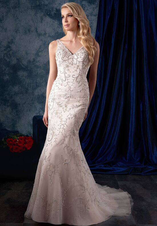 Alfred Angelo Sapphire Bridal Collection 978 Sheath Wedding Dress