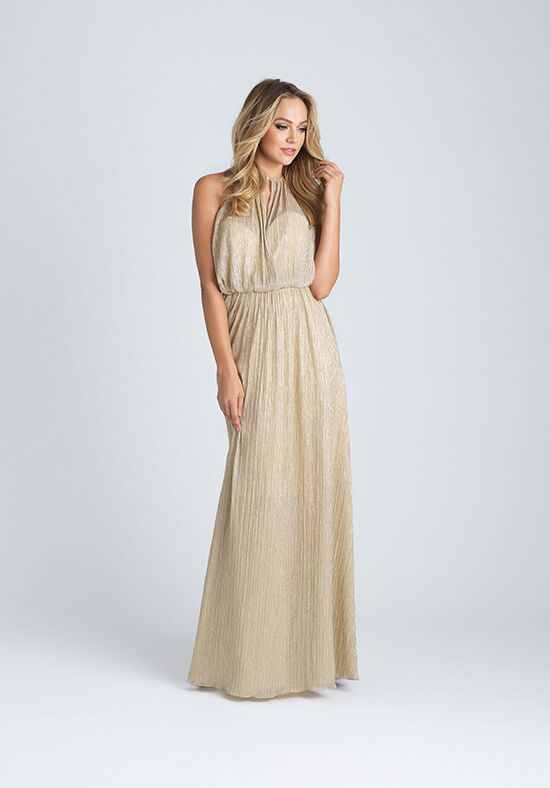 Allure Bridesmaids 1514 Halter Bridesmaid Dress