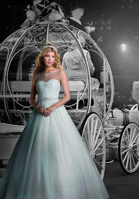 Alfred Angelo Disney Fairy Tale Weddings Bridal Collection 244 Ball Gown Wedding Dress
