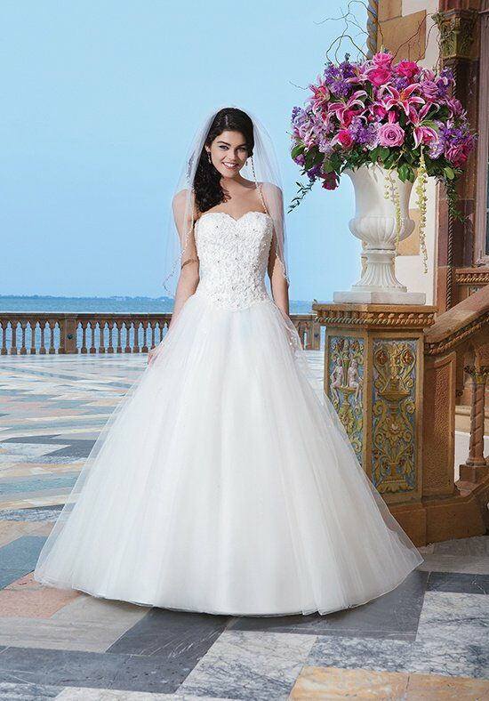 Sincerity Bridal 3840 Ball Gown Wedding Dress