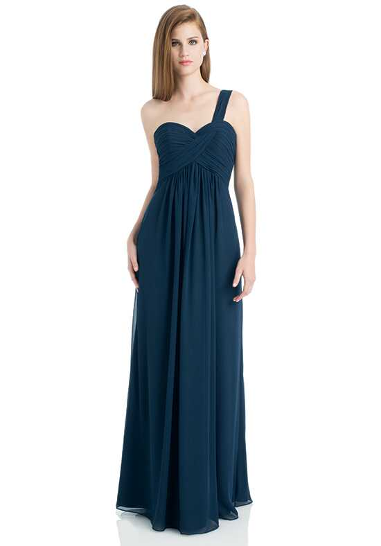 Bill Levkoff 736 One Shoulder Bridesmaid Dress